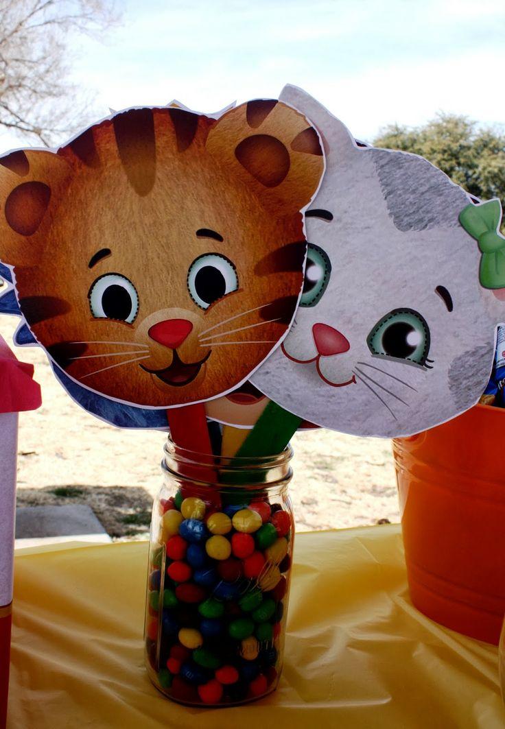 daniel tiger birthday party -- wehadababyit'saboy