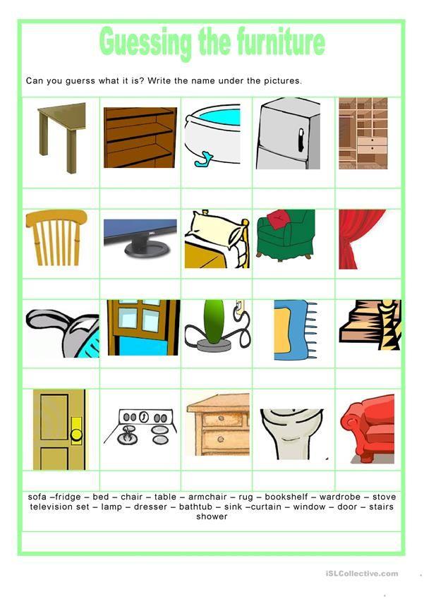 838 best esl worksheets of the day images on pinterest. Black Bedroom Furniture Sets. Home Design Ideas