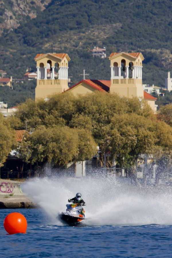 Jet Ski in Kalamata, Greece