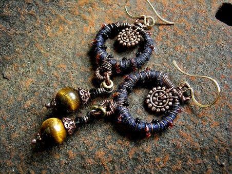 Serenata Notturno Earrings  by Cherie Elksong