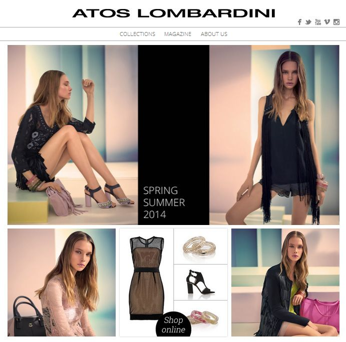 #ATOSLOMBARDINI #SS2014 > New #apparel & #accessories > shop online coming soon ... more at http://www.atoslombardini.com