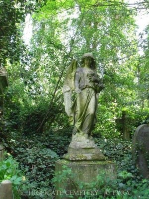 Tyras Trädgård / Tyras Garden: Travel - This is from the wonderful Cemetery in north London - Highgate Cemetery