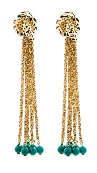 Aurelie Bidermann PALAZZO BO PENDANTES MG earrings