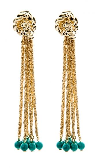 Aurelie Bidermann PALAZZO BO PENDANTES MG earrings
