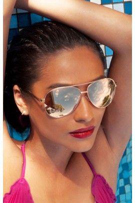 e87657526db Shay x QUAY - Vivienne in GOLD Shay Mitchell collab with Quay Eye-wear  Australia aviator sunglasses
