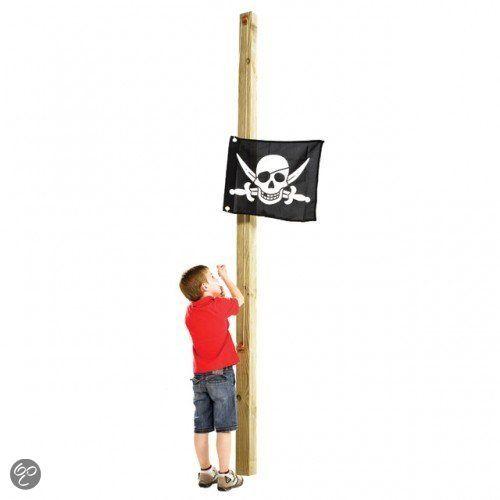 ELI: Piratenvlag voor op het speelhuisje!