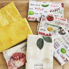 DIY Beeswax Wrap - Go Green Project to replace plastic wrap #beeswax #beeswrap #reusableplasticwrap #DIY https://www.thatorganicmom.com/diy-beeswax-wrap/