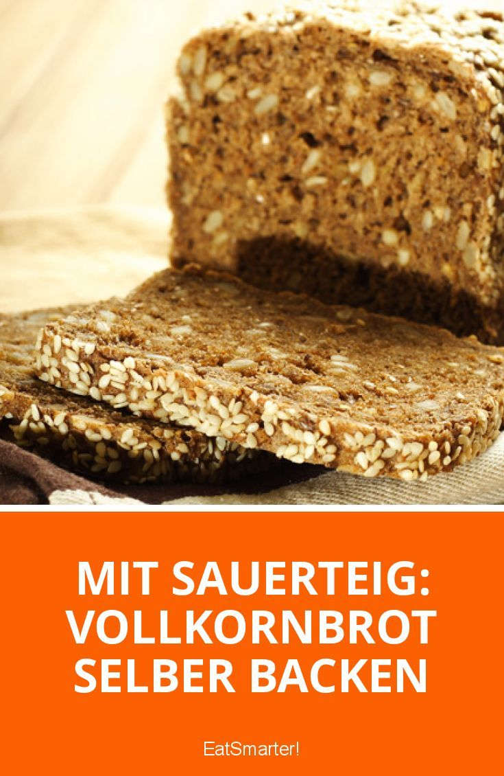 Mit Sauerteig: Vollkornbrot selber backen   eatsmarter.de