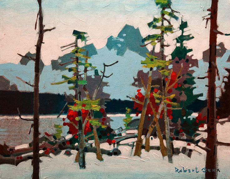 Amethyst Lake, Yonquin Valley, by Robert Genn