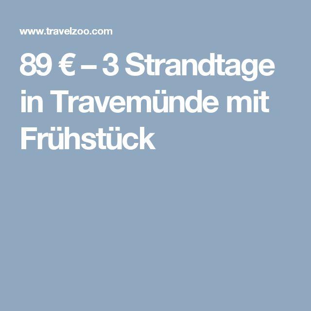 89 € – 3 Strandtage in Travemünde mit Frühstück --Lübecks schönste Tochter heißt Sie willkommen: Im Boutique-Hotel Lieblingsplatz, meine Strandperle urlauben Sie direkt am breiten Sandstrand von Travemünde.