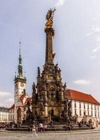 Olomouc Sloup Nejsvětější Trojice