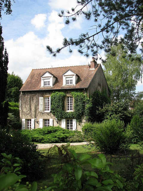 Cottage city farm dream exterior pinterest for French countryside real estate