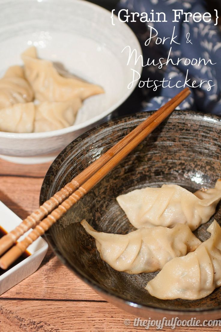 These grain free dumpling wrappers will change your world. Use them to fry up some Pork and Mushroom Potstickers for Chinese New Year!