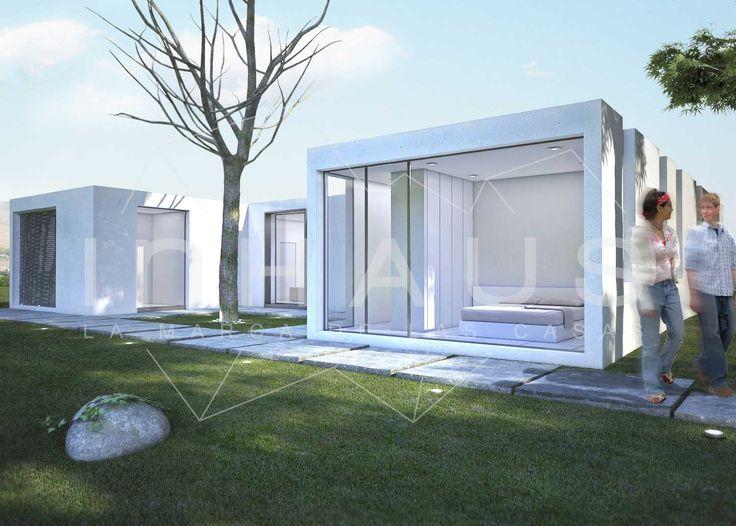 Casa prefabricada hormigon teruel casa dise o cubo - Casas modulares de hormigon ...