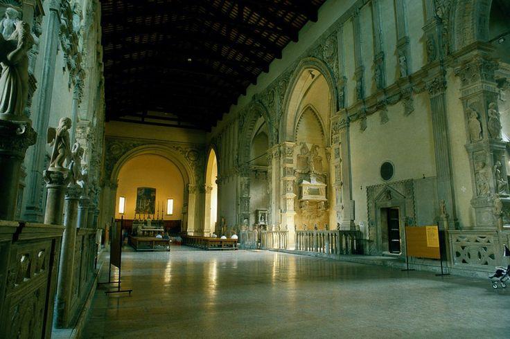 Tempio Malatestiano, interno