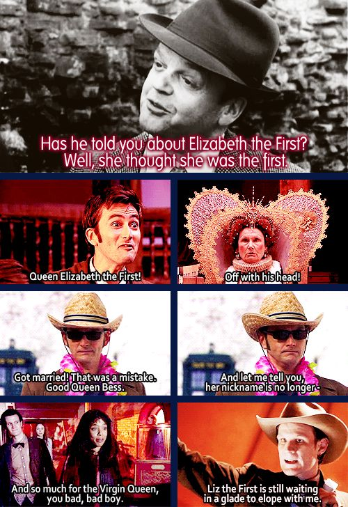 The Doctor and Elizabeth the First: the whole story.