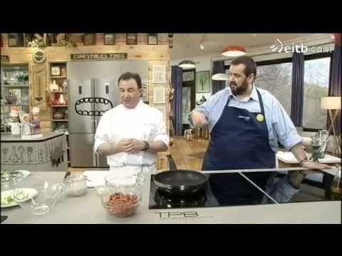 Tiras de pollo al queso parmesano, con mano de De Jorge y Berasategui - YouTube