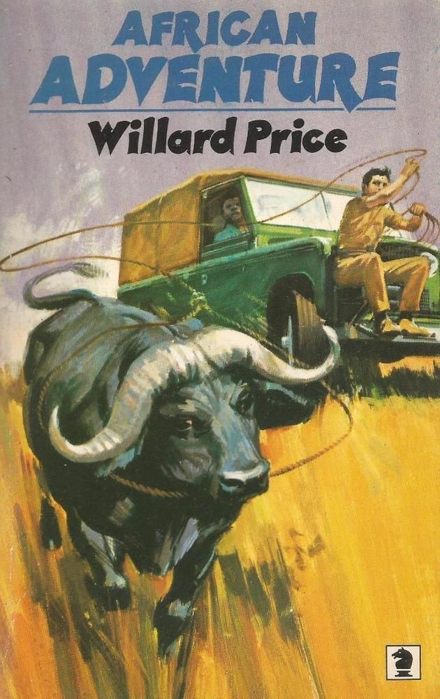 African Adventure - Willard Price - Action Packed to the Max!!! - PB - S/Hand