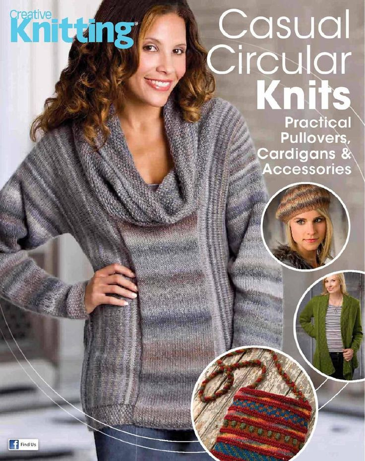 Creative Knitting Casual Circular Knits  October 2015 - 轻描淡写 - 轻描淡写