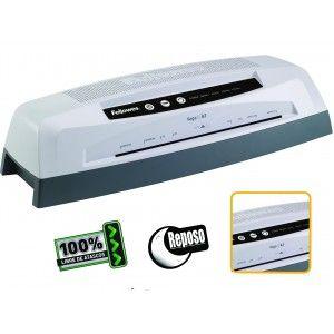 Plastificadora Fellowes Vega2 de fácil manejo e ideal para uso en la oficina. Plastifica documentos y fotografías hasta tamaño A3.  Utliza 4 rodillos de calor lo que asegura unos perfectos plastificados.