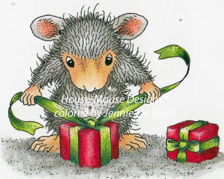 house mouse-designs colored by Jennie Black