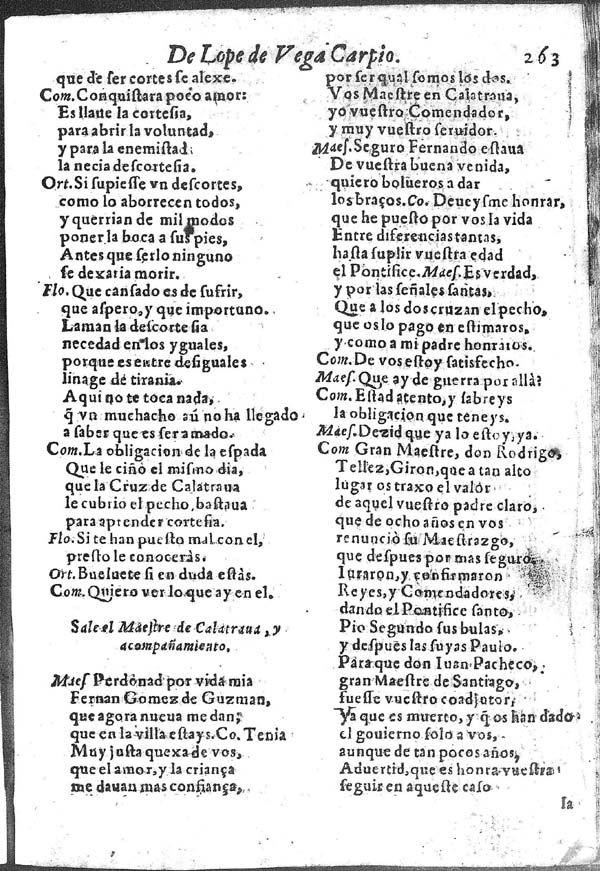 Fuente Ovejuna : comedia famosa / Lope de Vega   Biblioteca Virtual Miguel de Cervantes
