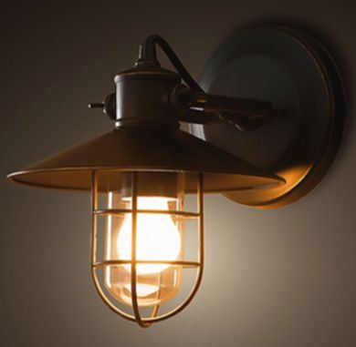 Restoration Hardware Sconce   Outdoor Lighting: 12 Products To Light Your  Way   Bob Vila