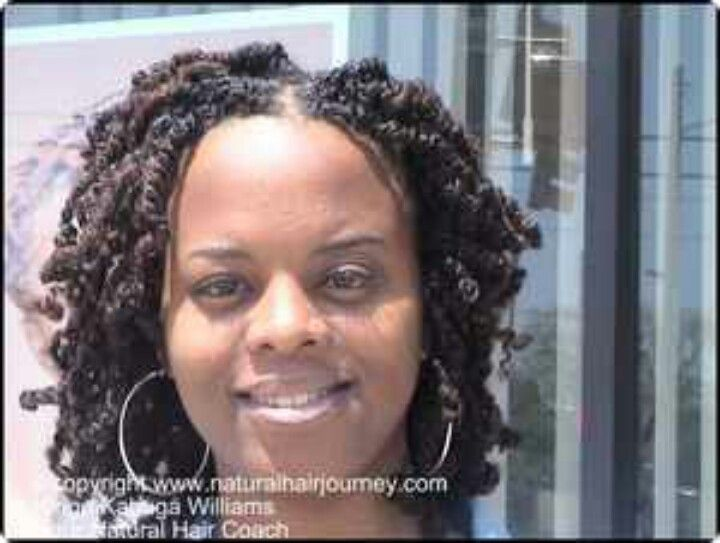 Two Strand Twists Extensions With Color Hairstyles