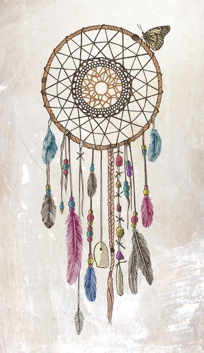 Minus the butterfly... I've really been wanting to get a dream catcher!