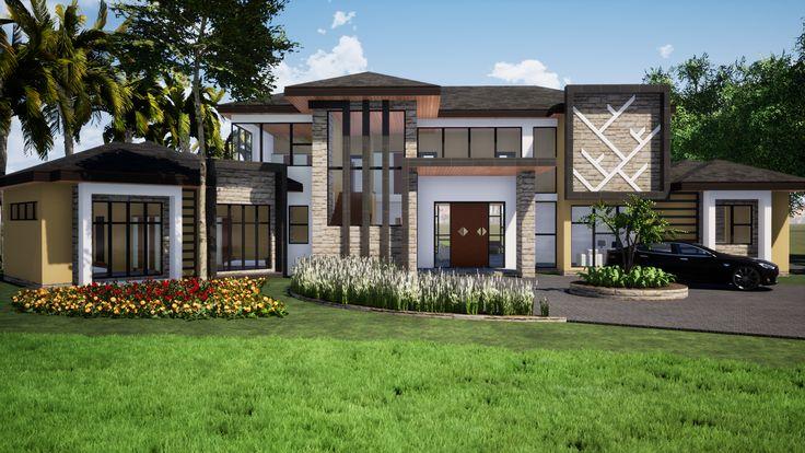 Gunhill Harare House House Outside Design House House Design Modern house designs zimbabwe