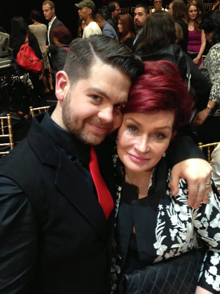 Jack and Sharon Osbourne