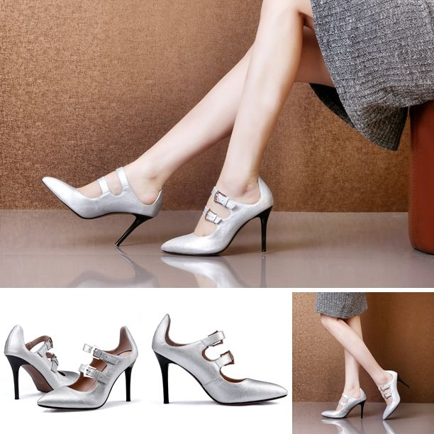 Pump - Lorena - $98.99 @shoesofexception #glossy #sexy #fashion #women #boots