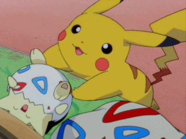Tickle Tickle Tickle. Togepi, Pikachu