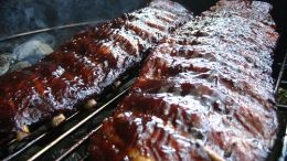 These are some of the most mouth watering ribs that you'll ever cook. Man I wish you could smell these. I bet you would be outside cooking them even if it is 3 AM.