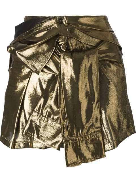 Shop Faith Connexion shirt-style mini skirt  in Smets from the world's best independent boutiques at farfetch.com. Shop 300 boutiques at one address.