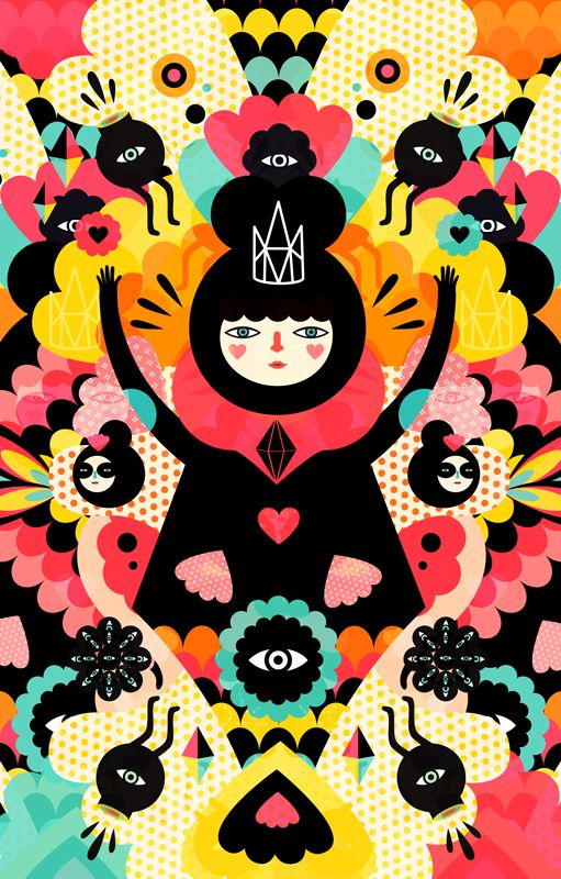 We are magical by Muxxi , via Behance