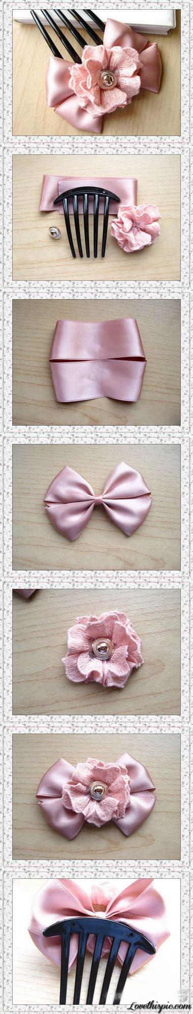Diy Hair Bow diy crafts home made easy