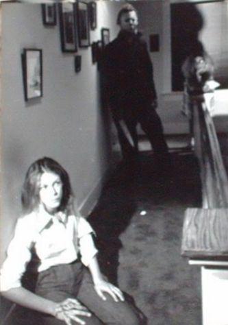Halloween Behind the Scenes: Jamie Lee Curtis and Michael Myers (Nick Castle)