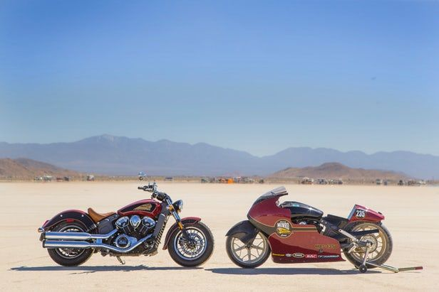Nearly 50 years ago, Burt Munro set a record of nearly 184 mph (296 km/h)in the under 1000 cc class on a 1920 Indian Scout. In August, Burt Munro's great nephew will pilot a new purpose-built Indian Scout Streamliner at the Bonneville Salt Flats in honor of the 50th Anniversary of that record.