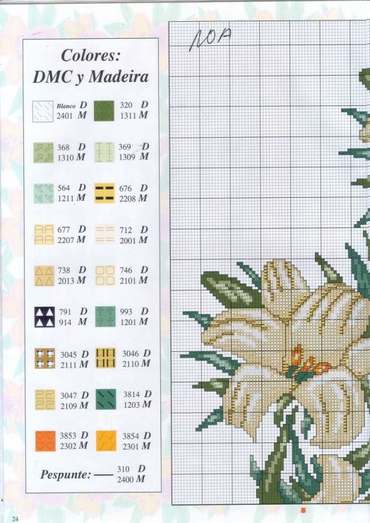 Lily Clock 2/4