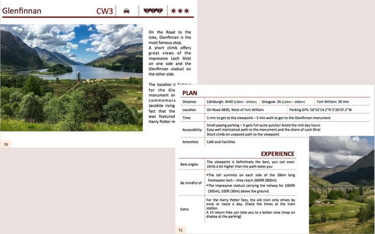 Example features road trip Scotland ebook