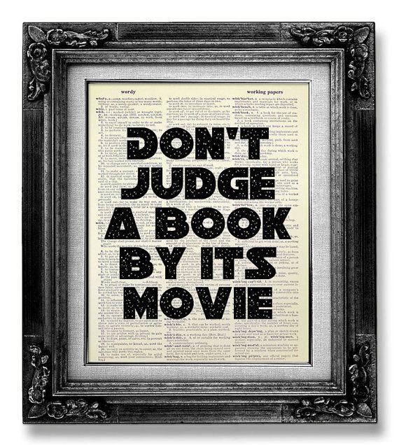 Buch Seite Kunst, Filmplakat, Bibliothek-Dekor, Literatur-Print, Funny Word Art College Dorm Wanddekoration, Bibliothekar Geschenk, Buch-Club Geschenk gefallen