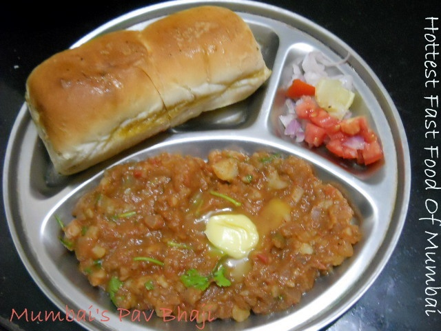 Mumbai Pav bhaji, Mumbai Pav bhaji Recipe, Mumbai Pav Bhaji Masala, Pav Bhaji:I am very excited to share Mumbai's Pav Bhaji Recipe... One of Mumbai's hottest selling fast food. I love Pav Bhaji since childhood. I have vivid memories of eating pav bhaji on juhu beach with sand dunes, cool breeze, lovely sea waves, people and of course eating my favorite pav bhaji. My mom used to take me and my sis to juhu beach almost every month. The way I use to stare at the guy making pav bhaji. Also…