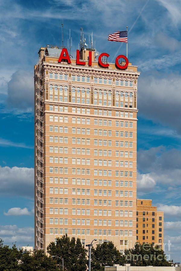 Alico Bldg Alico Waco Landmark Life Insurance Companies Waco