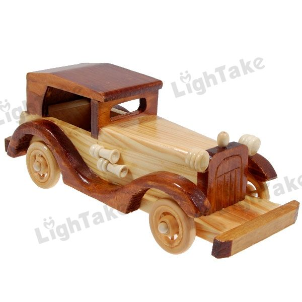 Wooden Toy Car | ... ake Worldwide Classic Collectable Wooden Car Toys Package Included
