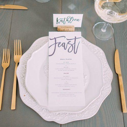 Joshua Suite - Modern Script Invite Simple Elegant  Calgary by Pink Umbrella www.pinkumbrelladesigns.com Photo by Darren Roberts