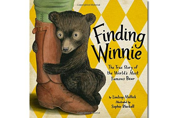 Finding Winnie-so sweet! my favorite new picture book!! So excited it won the Caldecott!!!