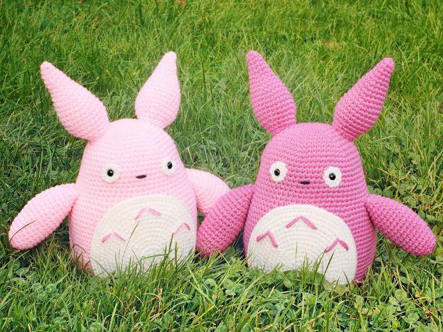 Amigurumi Totoro Receita : Best otros personajes y animales amigurumis images on