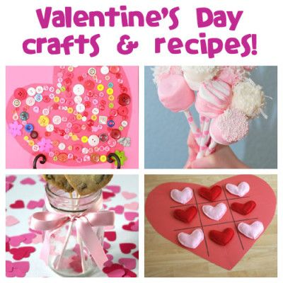 Valentine's Day is February 14th! Plenty of crafts and recipes for the kiddies!