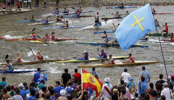 Descenso del Sella. Asturias